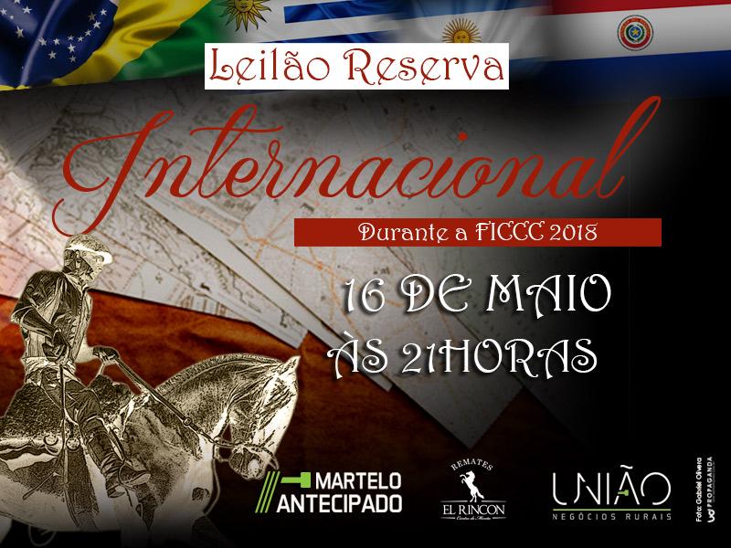 Leilão Reserva Internacional