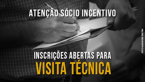 Categoria Incentivo terá direito a visita técnica programada