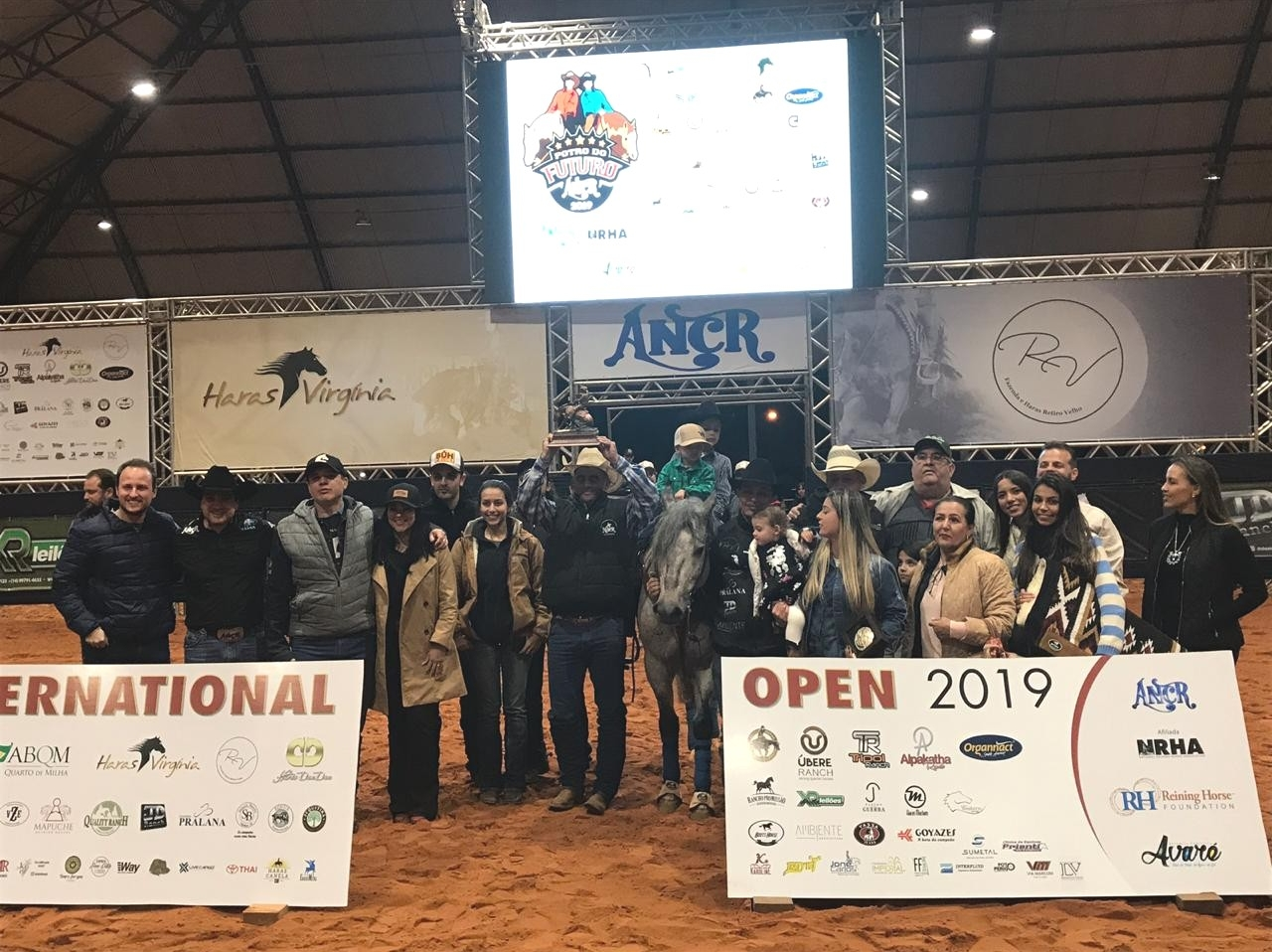Jubileu da Roraima no pódio do 1º ANCR International Open Aberta N4