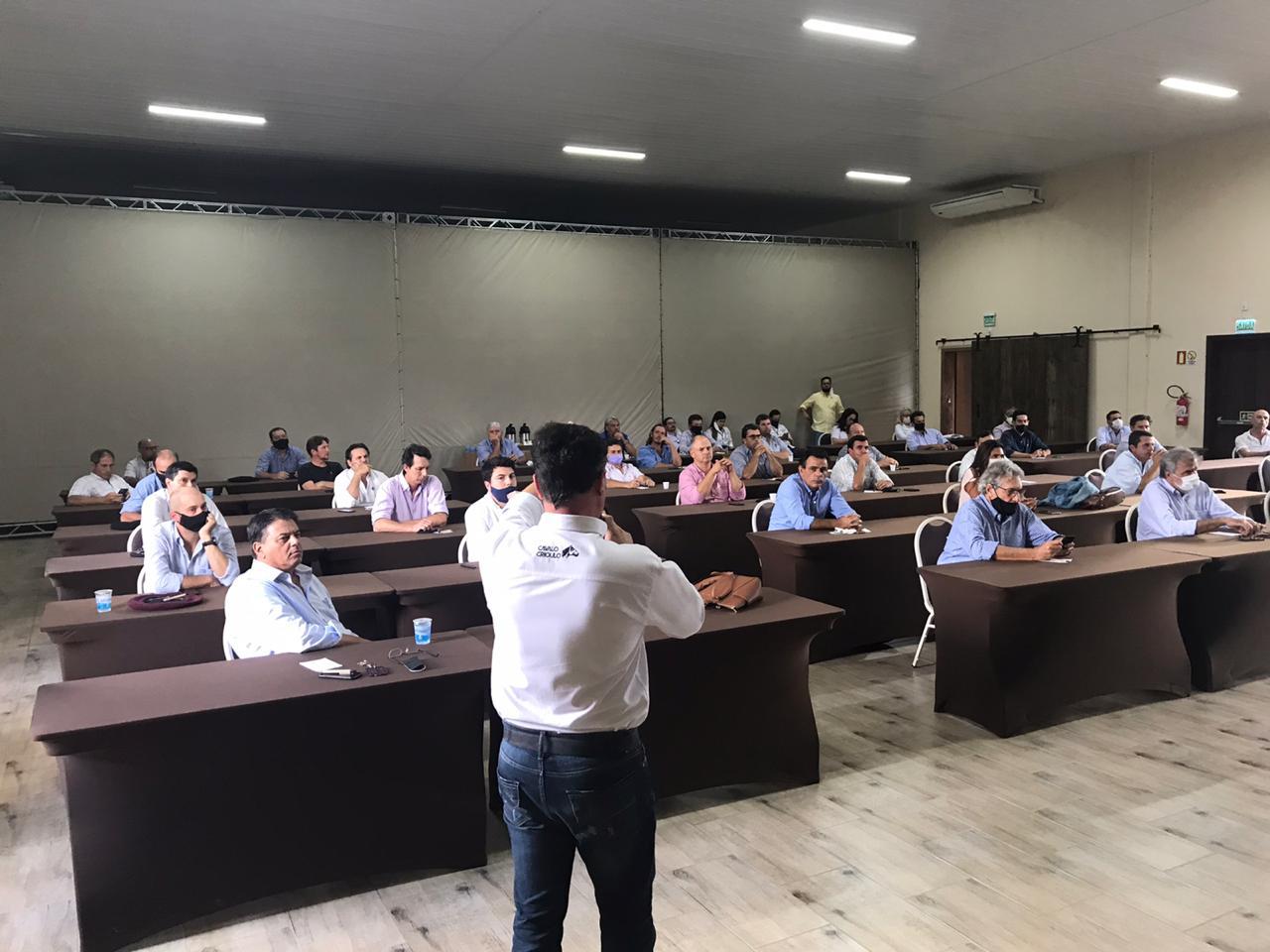 Ciclo de palestras abre Encontro Anual dos Técnicos da raça Crioula