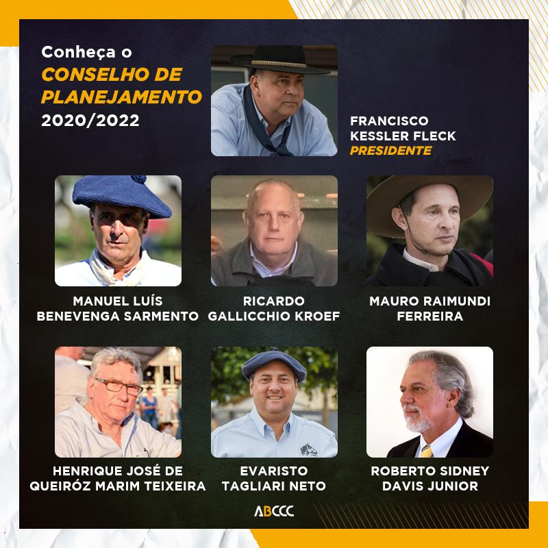 Conheça o Conselho de Planejamento 2020-2022